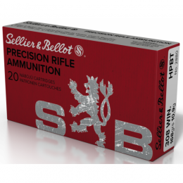 308 Winchester S&B HPBT 168gr VE20