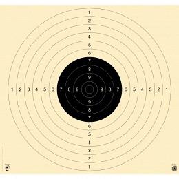 Kromer 25-/50m,-Pistolen-Präzisionsscheibe Karton 55x52cm