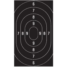 25-/50-m-Ordonnanz-Schnellfeuerscheibe