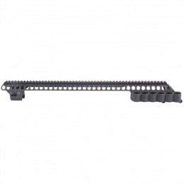 "MESA TACTICAL Remington 870 Sureshell Carrier & 20"" Rail"