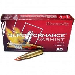 222 REM Hornady SUPERFORMANCE® VARMINT™ 50 gr V-MAX® VE20