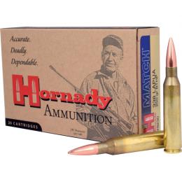 338 Lapua Magnum Hornady MATCH™ 250 gr BTHP VE20