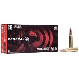 338 Lapua Magnum Federal American Eagle 250 gr JSP VE20