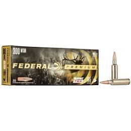 300 WSM Federal 165 gr Barnes TSX VE20