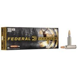 300 WSM Federal 180 gr  Nosler Accubond VE20