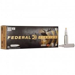 300 WSM Federal 165 gr Nosler Ballistic Tip VE20