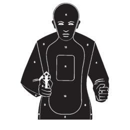 Kromer Combatscheibe Ausführung Shooting-Inn