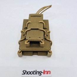 Templar's Gear Fast Rifle and Pistol Magazine Pouch Coyote