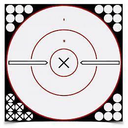 SHOOT-N-C WHITE/BLACK TARGETS