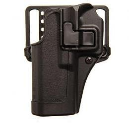 BlackHawk Pistolenholster SERPA CQC mit Sicherung matt