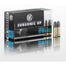 .22 lr Subsonic HP RWS VE50