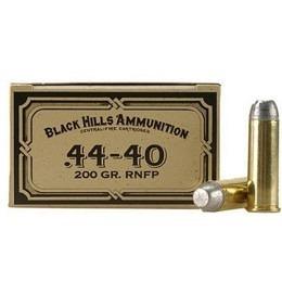 44-40 Black Hills 200 gr VE50