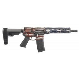 "Ruger AR-556 Pistol Flag Series, 5.56 Nato, 10.50"",  30 Schuss Magazin"