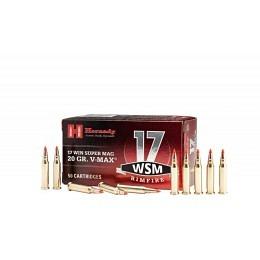 17 WSM Hornady RIMFIRE VARMINT EXPRESS® AMMUNITION 20 gr V-MAX® VE50
