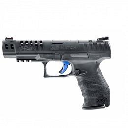 Walther Q5 MATCH, schwarz, 9mm Para, 15 Schuss, AM
