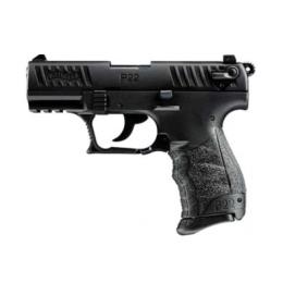 Walther P22Q Standard, 22 LR, schwarz, 10 Schuss