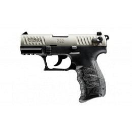 Walther P22Q Standard, 22 LR, nickel, 10 Schuss