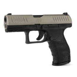 Walther PPQ M2 Bicolor, 9mm Para, Cerakote Stainless Schlitten, 15 Schuss
