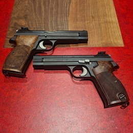 SIG P210-2 9mm nummerngleich Mikrometervisierung Nillgriff (Gebrauchtwaffe)