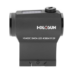 Holosun HS403C Solar Red Dot Sight Black